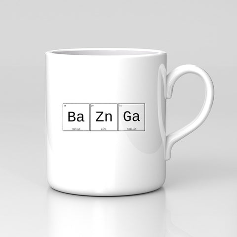 Bazinga Big Bang Theory Geek Sheldon Funny Mug Birthday Xmas Gift New