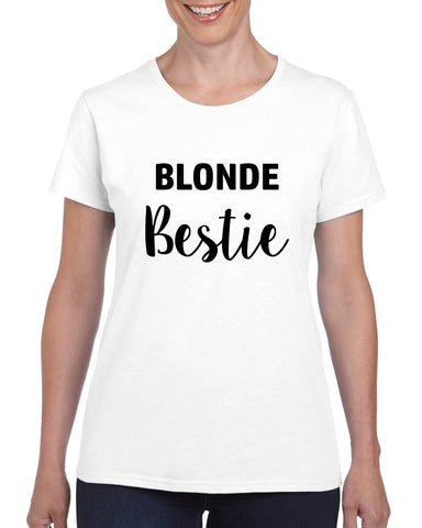 BFF Blonde Best Friend Women's T-shirt Teen Besties BFF Girls Top Tee Sizes XS - 2XL