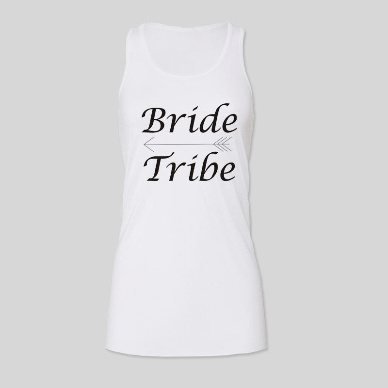 475ff445f8 Bride Tribe Hen Do Party Personalised Womens B&C Racerback Tank Top ...