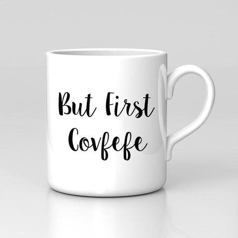 Tweet Covfefe USA Trump Protest But First Russia Funny Mug Coffee Tea Cup Gift