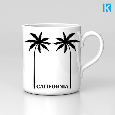 California State Palm Trees Summer Holiday USA Mug Great Birthday Xmas Gift New
