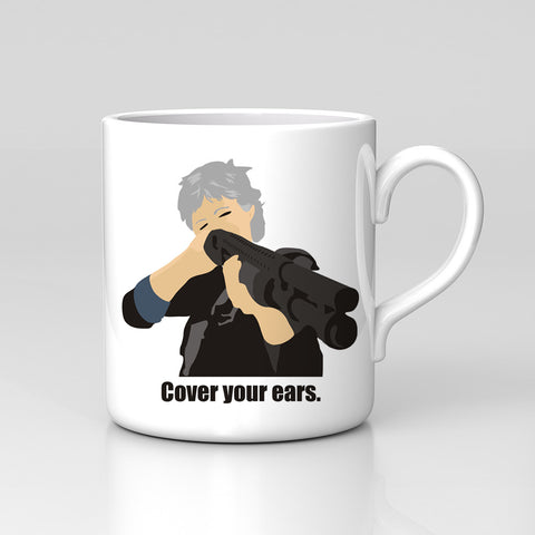 Cover Your Ears Carol Walking Dead Season 8 Negan Fan Art Mug Great Birthday Xmas Gift New