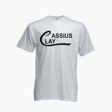 CASSIUS CLAY Boxing Sport T Shirt USA MUHAMMAD ALI FOTL Gym Mens Boys Tee New
