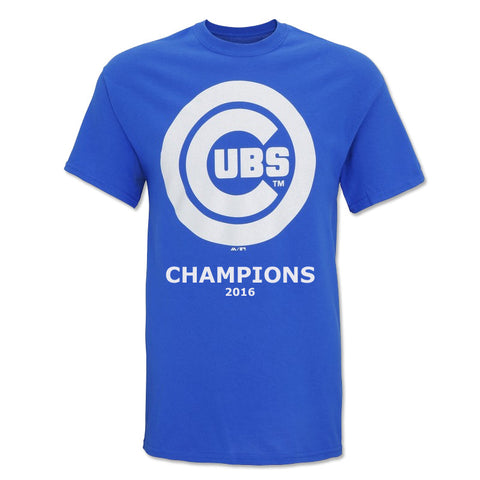Chicago Cubs Champions 2016 T-Shirt USA MLB Jersey Football World Series Tee Top