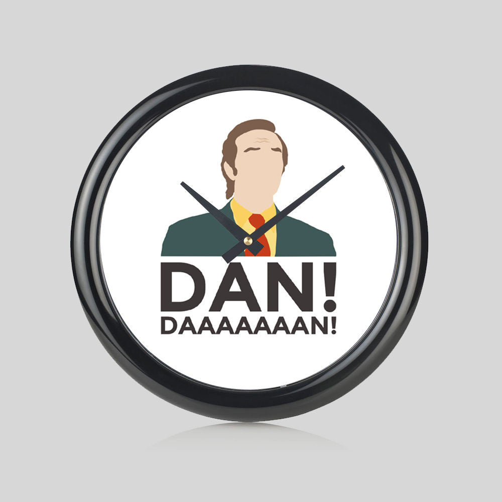 Alan Partridge DAN!! North Norfolk Digital Round Wall Clock Bedroom Home New