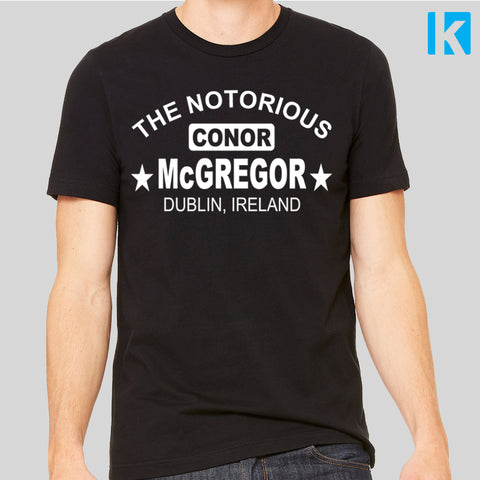 Conor McGregor Fan T-Shirt Mayweather Fight Gym Unofficial Top Mens Unisex Tee