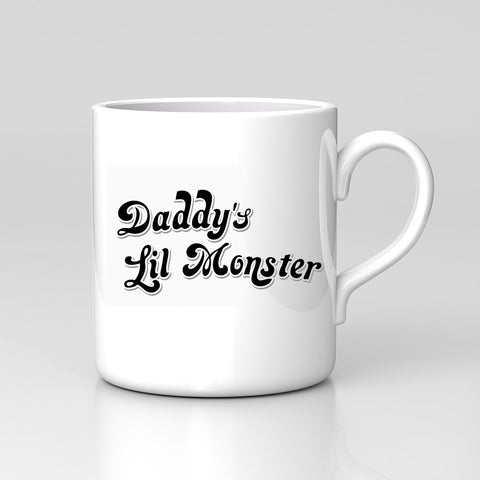 Daddy's Lil Monster Harley Quinn Suicide Squad Movie Logo Film Retro Mug Tee Top S-3XL New