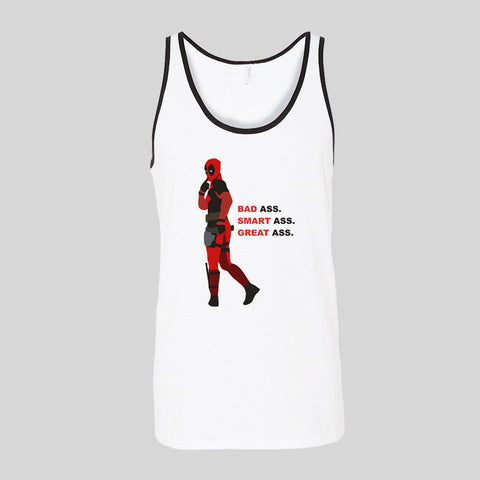 Deadpool Fan Art Unofficial Movie Film Unisex Jersey Tank Top