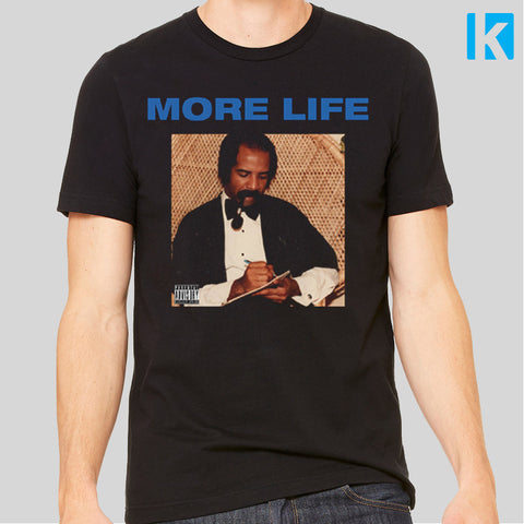 Drake More Life Music Lyrics Passionfruit Album T-shirt Unisex Tee New