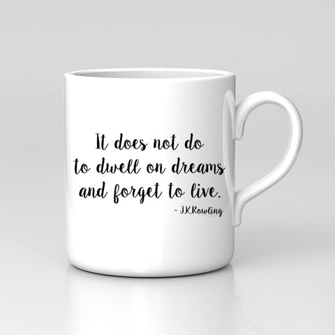 Harry Potter Quote Dwell On Dreams Book Film Magic Mug Great Birthday Xmas Gift New