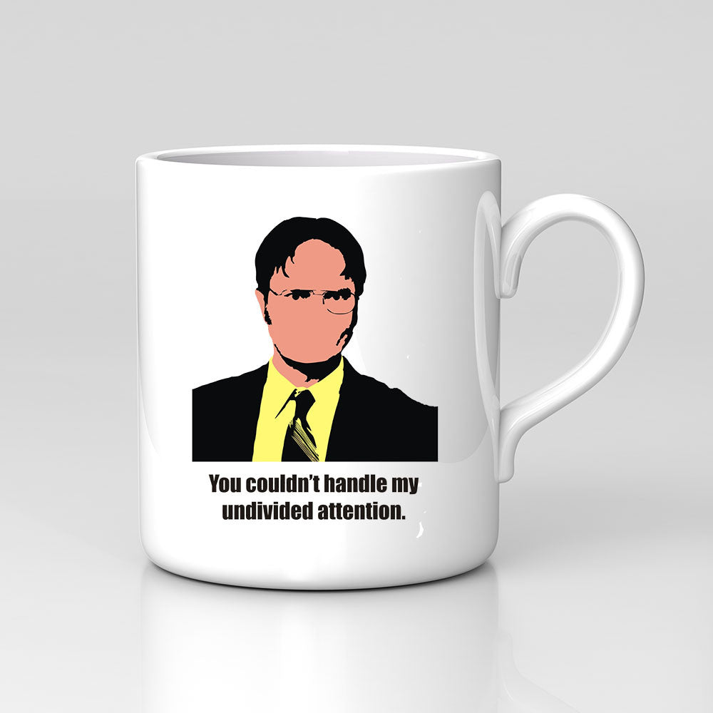 the office mug. Dwight The Office US Undivided Attention Mug Great Birthday Xmas Gift New The Office Mug