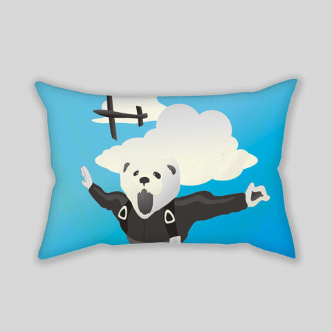 Impractical Jokers Flying Ferret Throw Pillowcase Rectangle Sofa Couch 100% Cotton