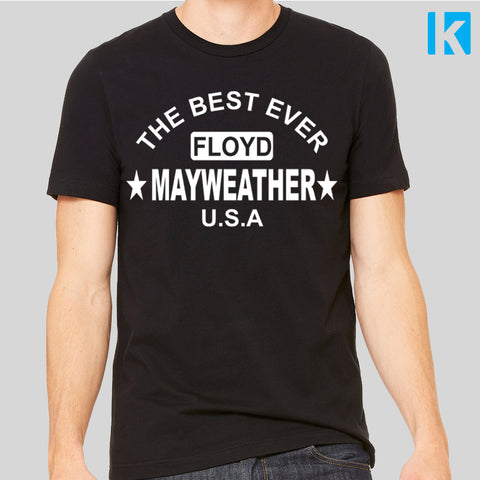 Floyd Mayweather Fan T-Shirt Fight Gym McGregor Unofficial Top Mens Unisex Tee