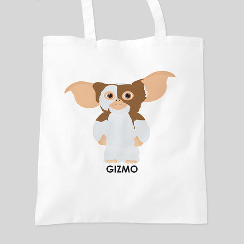 Gizmo Gremlins Fan Art Movie Tote Bag