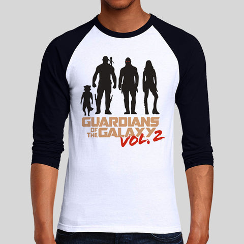 Guardians Of The Galaxy Volume 2 Logo Unofficial 2017 T-Shirt UNISEX Long Sleeve Retro S - 2XL New