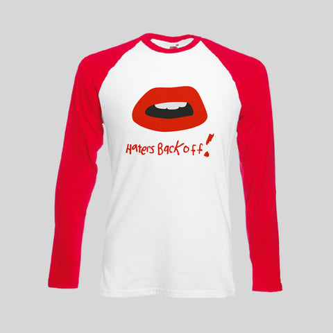 Haters Back Off Miranda Sings Netflix Logo Unofficial T-Shirt Long Sleeve Retro S - 2XL New