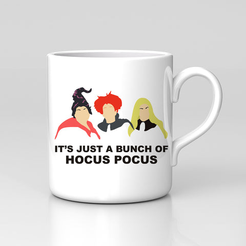 It's Just A Bunch Of Hocus Pocus Film Fan Art Mug Great Birthday Xmas Gift New