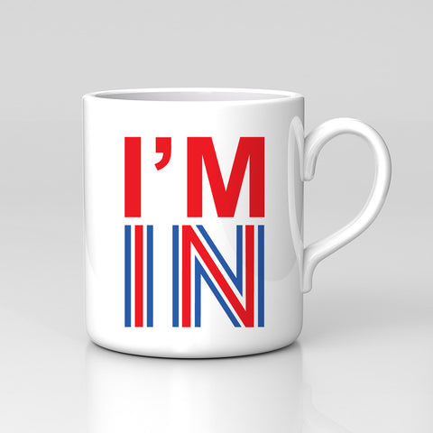 Stay Vote Remain European Union EU I'm In Not My Vote Ref Mug Great Birthday Gift