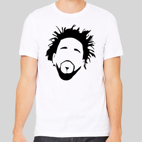 J Cole Jermaine Lamarr Minimal Fan Rap 4 Your Eyez Music T-shirt Unisex Tee New