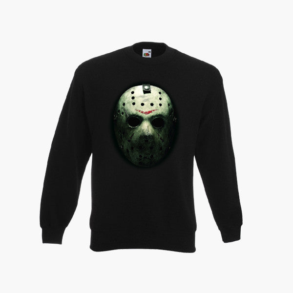 friday the 13th 80s sweatshirt jason voorhees halloween horror jumper all sizes