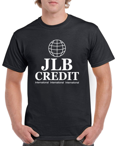 JLB Credit International T-Shirt Inspired by Peep Show Printed Tee Top  Sizes S - 2XL
