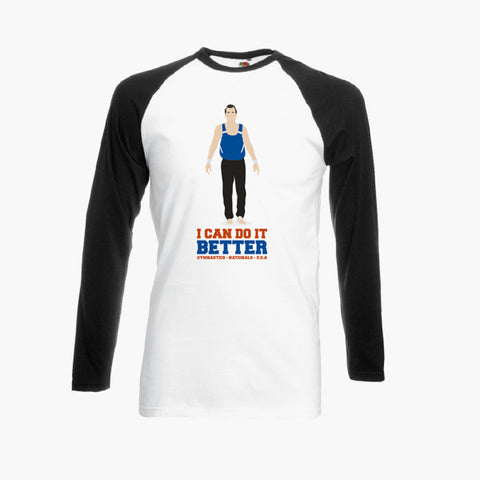 Impractical Jokers Joe Gatto I Can Do It Better Fan Art Unofficial T-Shirt Long Sleeve S-2XL