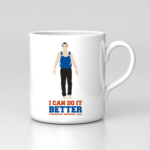 Impractical Jokers Joe Gatto I Can Do It Better Fan Art Unofficial Coffee Tea Mug Xmas Gift New