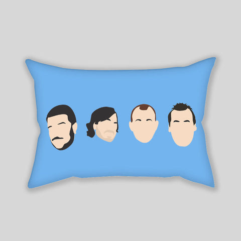 Impractical Jokers Funny Faces Throw Pillowcase Rectangle Sofa Couch 100% Cotton