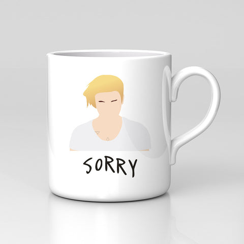 Justin Bieber Sorry New Single Pop Music Dope Mug Comedy Funny Xmas Gift New