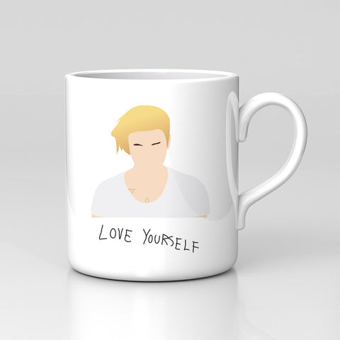 Justin Bieber Love Yourself New Single Pop Music Dope Mug Comedy Funny Xmas Gift New