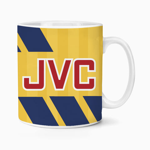 Arsenal 1993 Away Retro Ceramic Mug Coffee Tea Football Soccer Gooners Birthday Xmas Gift