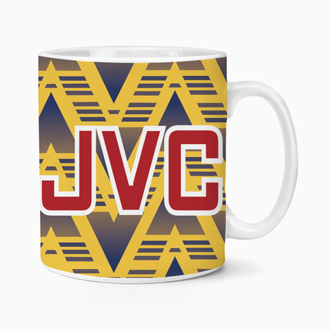 Arsenal 1991 Away Retro Ceramic Mug Coffee Tea Football Soccer Gooners Birthday Xmas Gift