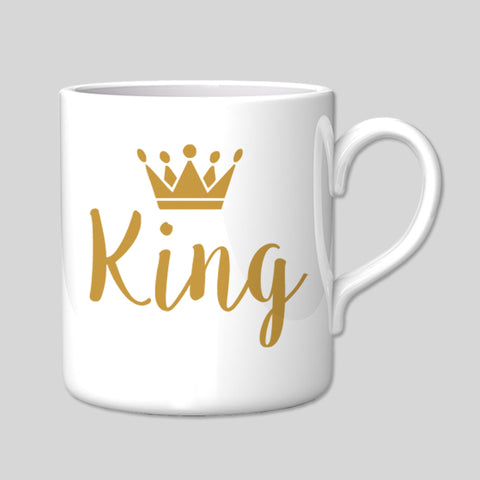 King Mug Boyfriend Husband Love Great Birthday Xmas Gift New Valentines Day Royal Boss