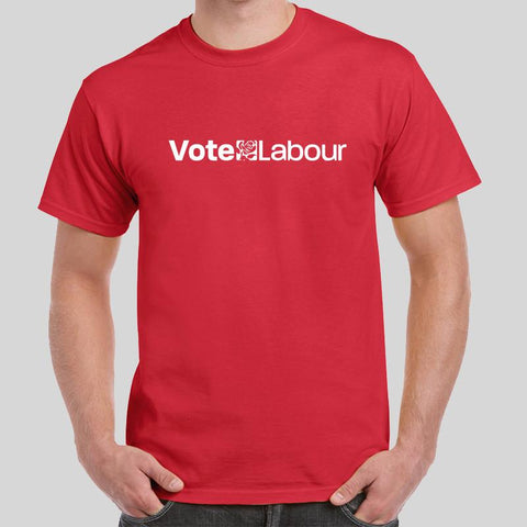 Vote Labour T-Shirt Brexit Britain British EU Exit Europe Tee Top Novelty Xmas Birthday Gift