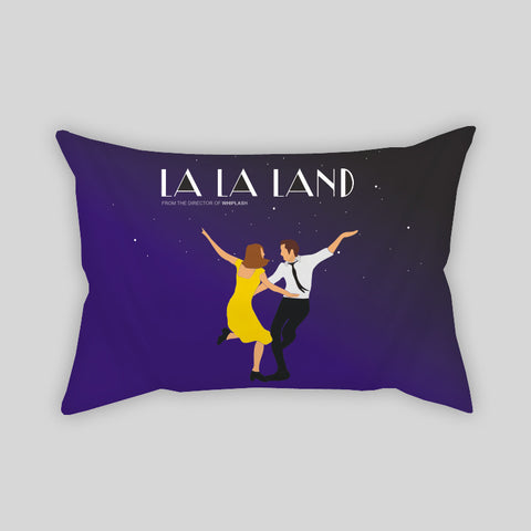 La La Land Fan Art Gosling Movie Room Throw Pillow Rectangle Sofa Couch Home