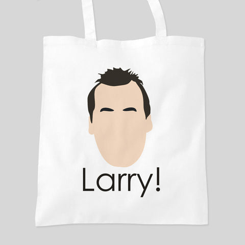 Impractical Jokers Larry! Funny Face Q Sal Fan Art Tote Bag