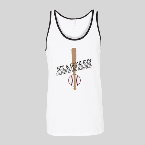 Lucille's Batting Cages Negan Fan Art Unofficial Unisex Jersey Tank Top