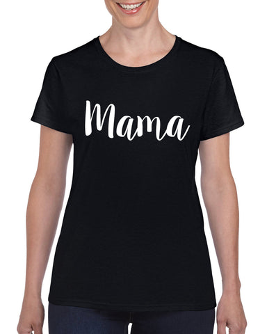 Mama Mother T-Shirt Daughter Novelty Mum's Day Funny Top Tee Shirt Sizes XS - 2XL Gift New
