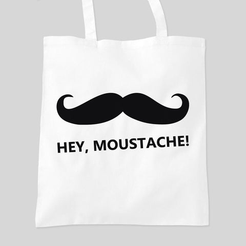 Impractical Jokers Hey Moustache Sal Q Joe Murr Fan Art Tote Bag