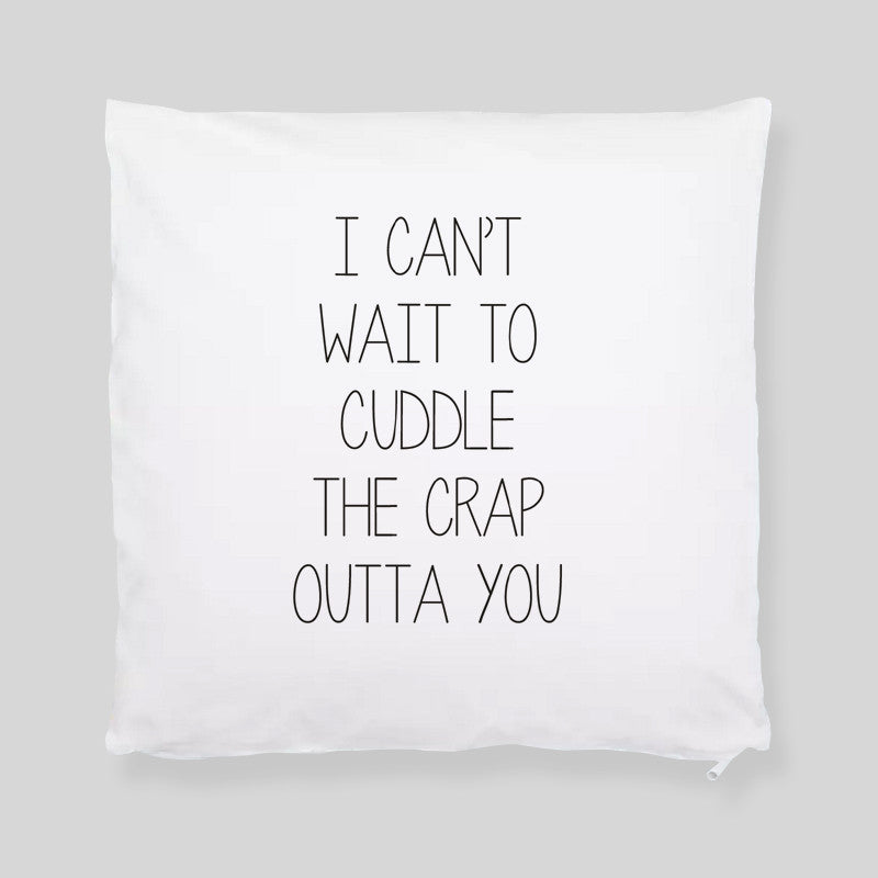 Can't Wait To Cuddle Mothers Day Valentine Throw Pillowcase