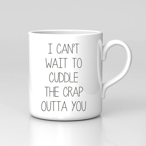 Can't Wait To Cuddle Mothers Day Valentine Mug Great Gift New