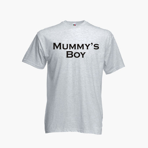 Mummy's Boy T-Shirt Boys Kids Childrens New
