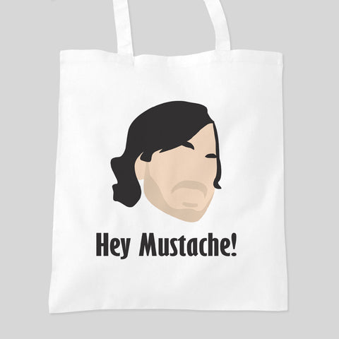 Impractical Jokers Hey Mustache Ferret Larry! Fan Art Tote Bag