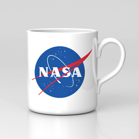 Nasa Retro Space Station Geek Nerd Mug Cup Hipster Great Birthday Xmas Gift New