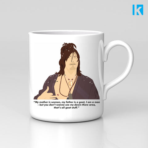 Goat Quote Norman Reedus Jimmy Fallon TV Show Mug Great Birthday Xmas Gift New