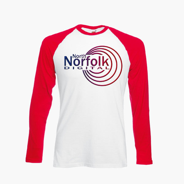 Alan Partridge North Norfolk Digital Funny T-Shirt Long Sleeve Retro S - 2XL New