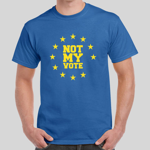 Stay Vote Remain European Union Tee Top Shirt EU I'm In Not My Vote Referendum Stay