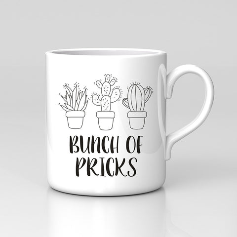 Cactus Plants Bunch P**cks Funny Gift Coffee Tea Mug Quote Birthday Work Tumblr
