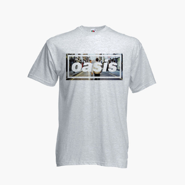 7521a948c3ed ... Oasis T Shirt Definitely Maybe Band Top Tee Liam Noel Gallagher Morning  Glory ...
