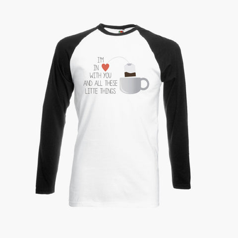 One Direction Little Things Fan Art Unofficial T Shirt Long Sleeve S-2XL New